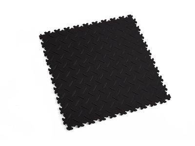 Mosolut PVC dlažba Machine ECO - Diamant - Černá 51 x 51 cm