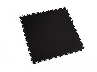 PVC dlažba Mosolut Machine ECO - Kůže, černá