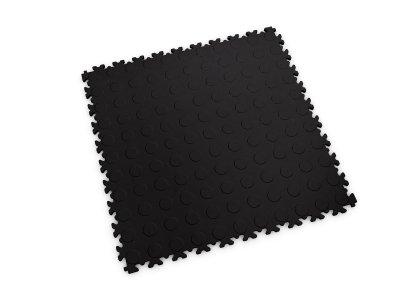 PVC dlažba Mosolut Machine ECO - Mince, černá