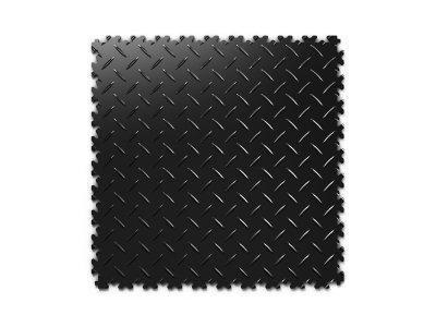 PVC dlažba Mosolut Machine Industry - Diamant, Černá