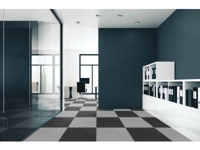 PVC dlažba Mosolut Machine XL - ECO Černá