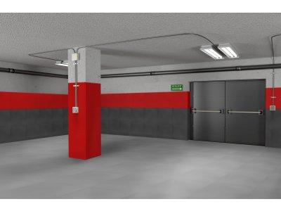 PVC dlažba Mosolut Machine XL - Červená