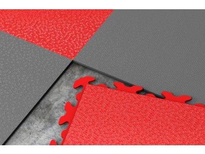 PVC dlažba Mosolut Machine Invisible - Červená