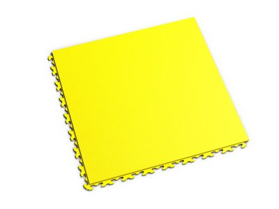 PVC dlažba Mosolut Machine Invisible - Žlutá