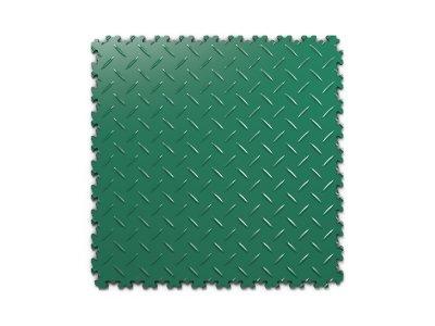 PVC dlažba Mosolut Machine Industry - Diamant, Zelená