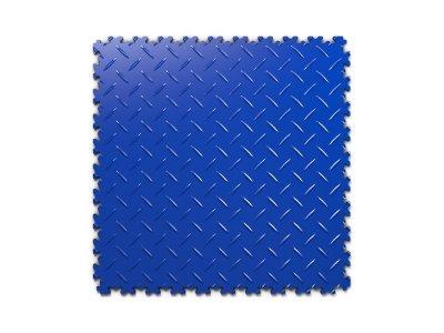 PVC dlažba Mosolut Machine Industry - Diamant, Modrá