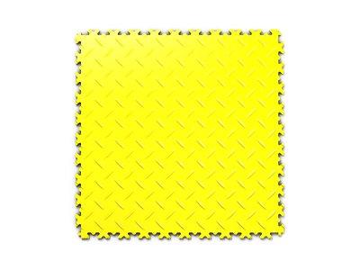PVC dlažba Mosolut Machine Industry - Diamant, Žlutá