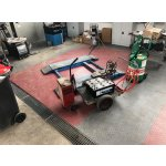 PVC dlažba Mosolut Machine Industry - Mince, Černá