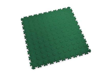 PVC dlažba Mosolut Machine Industry - Mince, Zelená