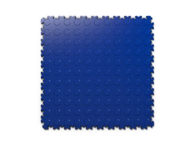 PVC dlažba Mosolut Machine Industry - Mince, Modrá