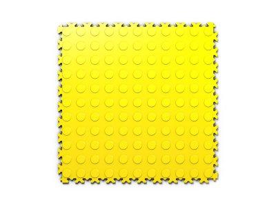 PVC dlažba Mosolut Machine Industry - Mince, Žlutá