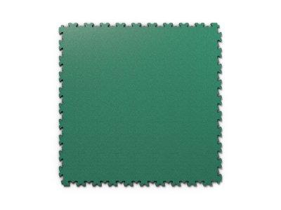PVC dlažba Mosolut Machine Industry - Kůže, Zelená