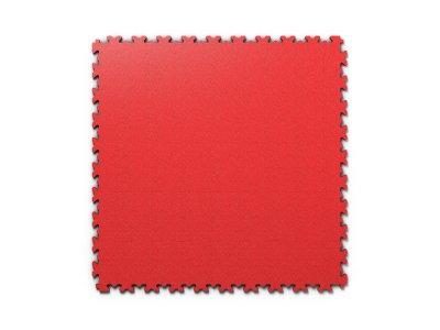 PVC dlažba Mosolut Machine Industry - Kůže, Červená