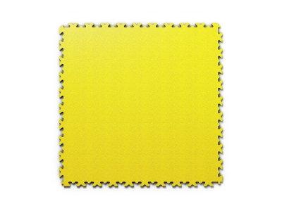 PVC dlažba Mosolut Machine Industry - Kůže, Žlutá