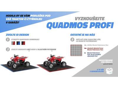 QUADMOS PROFI- PP podlaha pod čtyřkolku, set 6m²