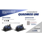 QUADMOS UNI- PVC podlaha pod pracovní čtyřkolku a malotraktor, set 6m²