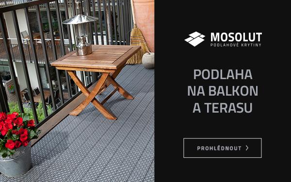 Podlaha na balkon a terasu