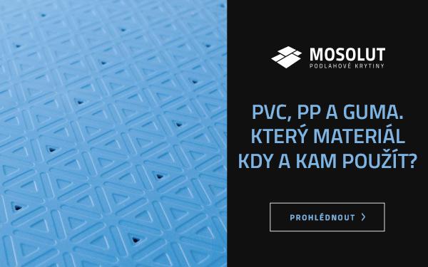 Rozdíly mezi dlažbou z PVC, PP a gumy. Kterou použít, kdy a kam?